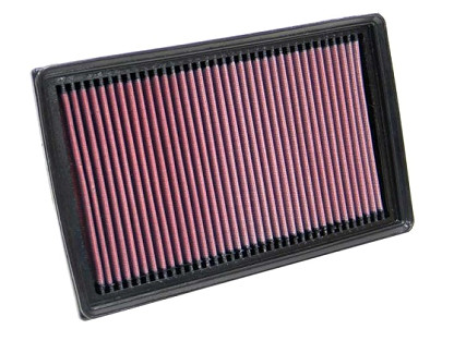 K&N Air Filter No. 33-2886  Ford Focus II 2.0TDCi (136 PS), 11/04-3/07